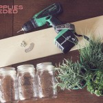 Mason Jar Planter DIY featuring Christen of Two Happy Hearts and Kylie from Midnight and Dawn